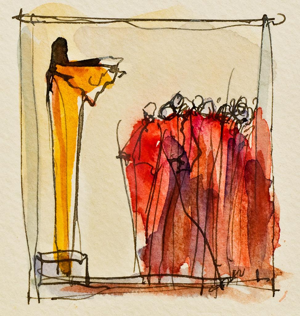 Die Brueder vor Joseph I