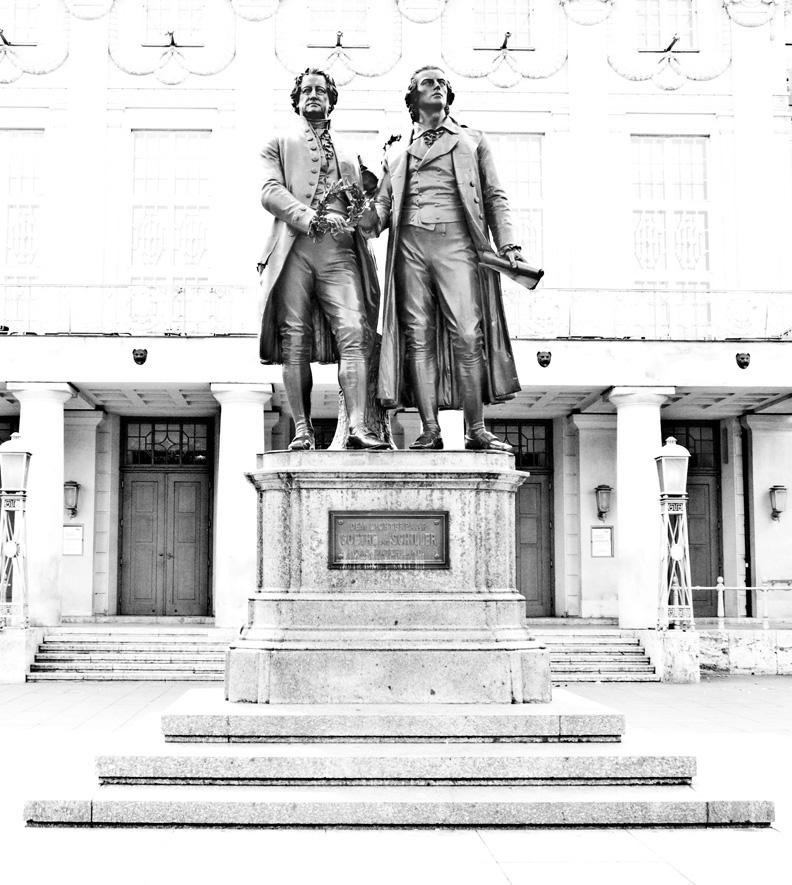 Weimar- Goethe-Schiller-Denkmal