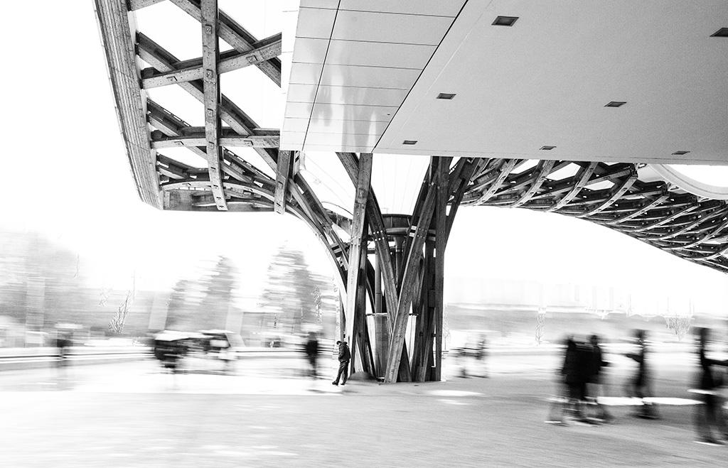 Frankreich - Metz - Centre-Pompidou-Metz