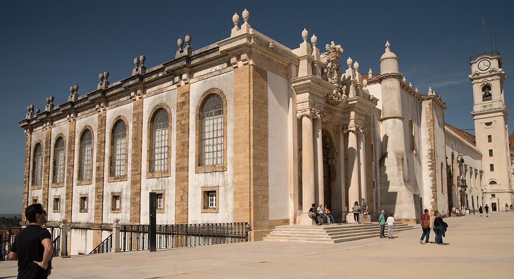 Portugal Cohimbra - Biblioteca Joanina