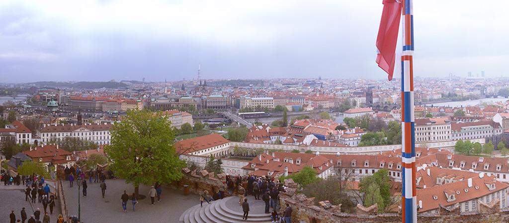 Prag - Panoramaansicht
