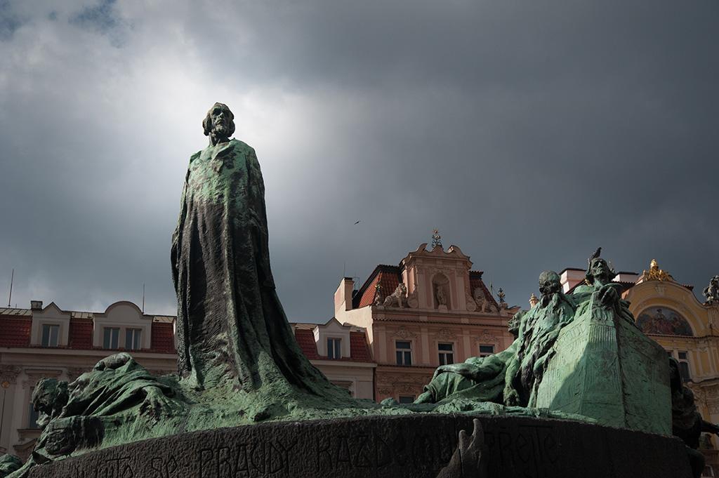 Prag - Jan Hus Denkmal (Pomník mistra Jana Husa)