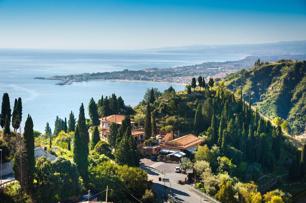 Sizilien - Taormina und Naxos Gardini