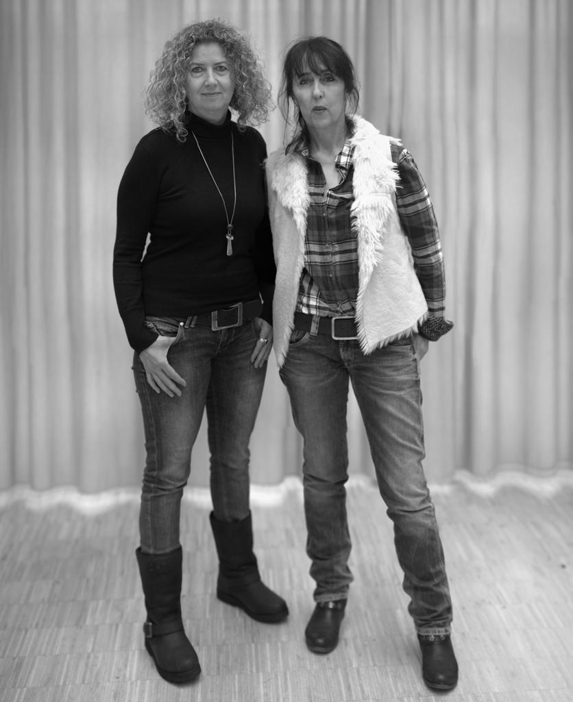 Isabell Gawron und Karin Domanowsky